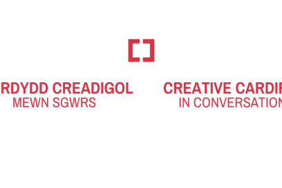 Creative Cardiff in Conversation logo